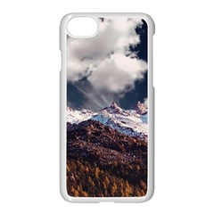 Mountain Sky Landscape Hill Rock Apple Iphone 8 Seamless Case (white)