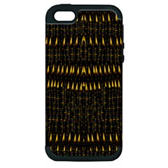 Hot As Candles And Fireworks In The Night Sky Apple Iphone 5 Hardshell Case (pc+silicone) by pepitasart