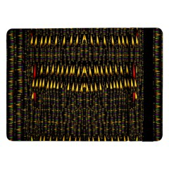 Hot As Candles And Fireworks In The Night Sky Samsung Galaxy Tab Pro 12 2  Flip Case by pepitasart