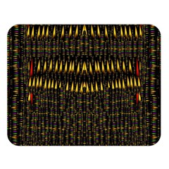 Hot As Candles And Fireworks In The Night Sky Double Sided Flano Blanket (large)  by pepitasart