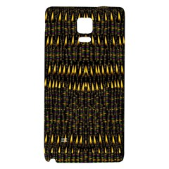 Hot As Candles And Fireworks In The Night Sky Galaxy Note 4 Back Case by pepitasart