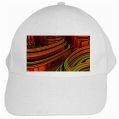 Science Fiction Technology White Cap by Celenk
