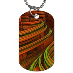 Science Fiction Technology Dog Tag (two Sides)