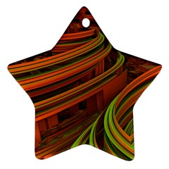 Science Fiction Technology Star Ornament (two Sides) by Celenk