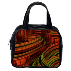 Science Fiction Technology Classic Handbags (one Side) by Celenk