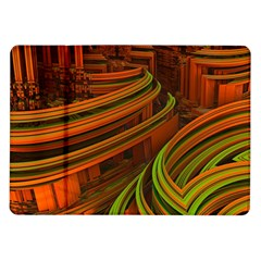 Science Fiction Technology Samsung Galaxy Tab 10 1  P7500 Flip Case