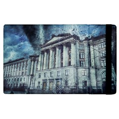 Storm Rain Lightning Weather Apple Ipad 3/4 Flip Case by Celenk