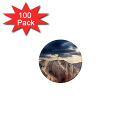 Nature Landscape Clouds Sky Rocks 1  Mini Magnets (100 Pack)  by Celenk