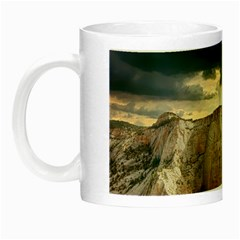 Nature Landscape Clouds Sky Rocks Night Luminous Mugs by Celenk
