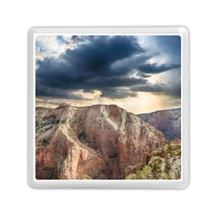 Nature Landscape Clouds Sky Rocks Memory Card Reader (square)