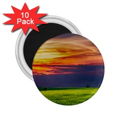 Countryside Landscape Nature Rural 2 25  Magnets (10 Pack)