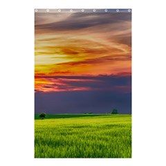 Countryside Landscape Nature Rural Shower Curtain 48  X 72  (small)  by Celenk