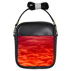 Red Cloud Girls Sling Bags