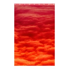 Red Cloud Shower Curtain 48  X 72  (small)