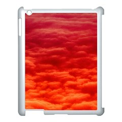 Red Cloud Apple Ipad 3/4 Case (white) by Celenk