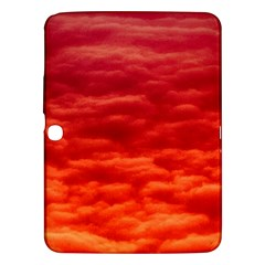Red Cloud Samsung Galaxy Tab 3 (10 1 ) P5200 Hardshell Case  by Celenk