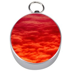 Red Cloud Silver Compasses by Celenk