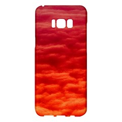 Red Cloud Samsung Galaxy S8 Plus Hardshell Case  by Celenk