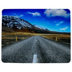 Road Mountain Landscape Travel Jigsaw Puzzle Photo Stand (rectangular) by Celenk