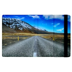Road Mountain Landscape Travel Apple Ipad Pro 9 7   Flip Case by Celenk