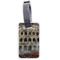 Colosseum Italy Landmark Coliseum Luggage Tags (two Sides)
