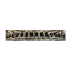 Colosseum Italy Landmark Coliseum Flano Scarf (mini) by Celenk