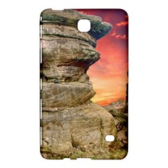 Rocks Landscape Sky Sunset Nature Samsung Galaxy Tab 4 (8 ) Hardshell Case  by Celenk