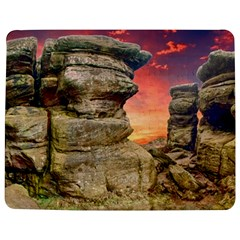 Rocks Landscape Sky Sunset Nature Jigsaw Puzzle Photo Stand (rectangular)