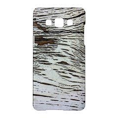 Wood Knot Fabric Texture Pattern Rough Samsung Galaxy A5 Hardshell Case