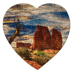 Bryce Canyon Usa Canyon Bryce Jigsaw Puzzle (heart) by Celenk
