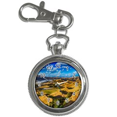 Hills Countryside Landscape Rural Key Chain Watches