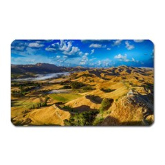 Hills Countryside Landscape Rural Magnet (rectangular) by Celenk