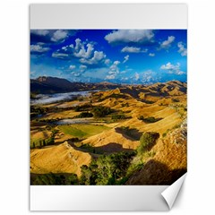 Hills Countryside Landscape Rural Canvas 36  X 48   by Celenk