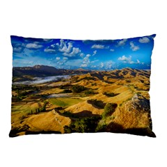 Hills Countryside Landscape Rural Pillow Case (two Sides)