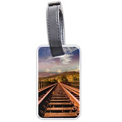 Railway Track Travel Railroad Luggage Tags (two Sides)