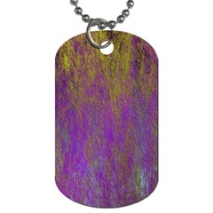 Background Texture Grunge Dog Tag (one Side)