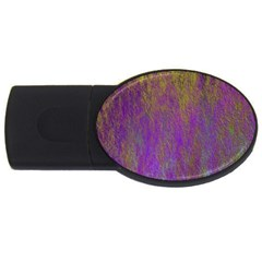 Background Texture Grunge Usb Flash Drive Oval (2 Gb)