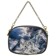 Mountain Snow Winter Landscape Chain Purses (one Side)