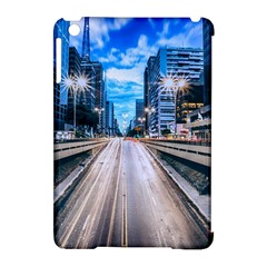 Urban Street Cityscape Modern City Apple Ipad Mini Hardshell Case (compatible With Smart Cover) by Celenk