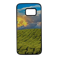 Sunrise Hills Landscape Nature Sky Samsung Galaxy S7 Black Seamless Case
