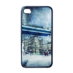 Storm Weather Nature Thunderstorm Apple Iphone 4 Case (black)