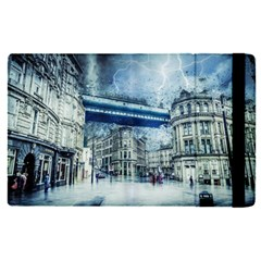 Storm Weather Nature Thunderstorm Apple Ipad Pro 12 9   Flip Case by Celenk