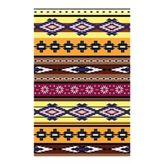 Colorful Tribal Art   Boho Pattern Shower Curtain 48  X 72  (small)  by tarastyle