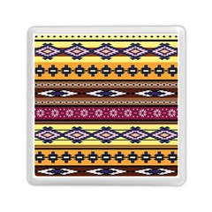 Colorful Tribal Art   Boho Pattern Memory Card Reader (square)  by tarastyle