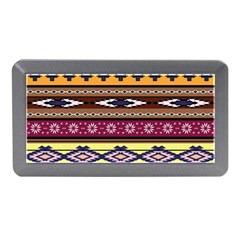 Colorful Tribal Art   Boho Pattern Memory Card Reader (mini) by tarastyle