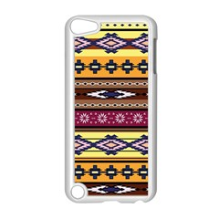 Colorful Tribal Art   Boho Pattern Apple Ipod Touch 5 Case (white) by tarastyle