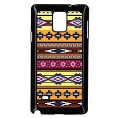 Colorful Tribal Art   Boho Pattern Samsung Galaxy Note 4 Case (black) by tarastyle