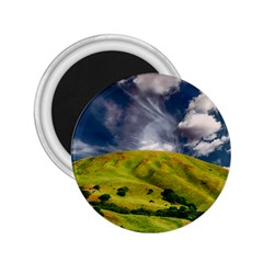 Hill Countryside Landscape Nature 2 25  Magnets by Celenk