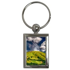 Hill Countryside Landscape Nature Key Chains (rectangle)