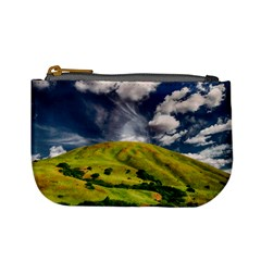 Hill Countryside Landscape Nature Mini Coin Purses